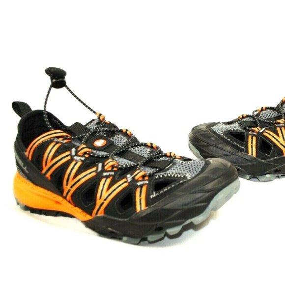 Merrell Choprock Shandal Mens Walking Shoes Green